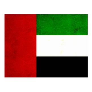 Modern Edgy Arab Flag Postcard