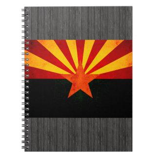 Modern Edgy Arizonan Flag Notebook