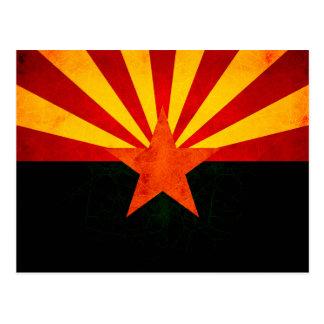 Modern Edgy Arizonan Flag Postcards