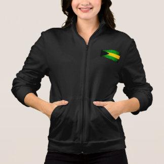 Modern Edgy Bahamian Flag Jacket