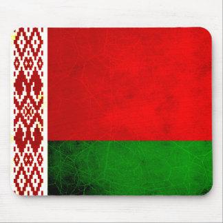 Modern Edgy Belarusian Flag Mousepads