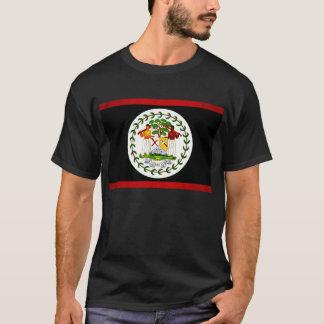 Modern Edgy Belizean Flag T-Shirt