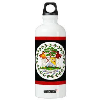 Modern Edgy Belizean Flag Water Bottle