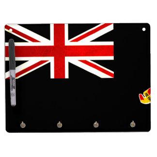 Modern Edgy Caymanian Flag Dry-Erase Boards