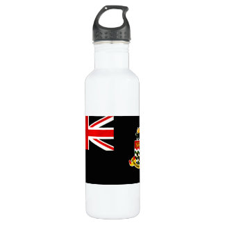 Modern Edgy Caymanian Flag Water Bottle