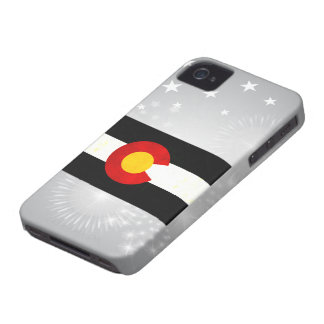 Modern Edgy Coloradan Flag iPhone 4 Cover