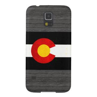 Modern Edgy Coloradan Flag Case For Galaxy S5