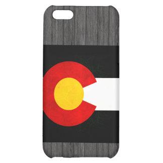 Modern Edgy Coloradan Flag iPhone 5C Cases