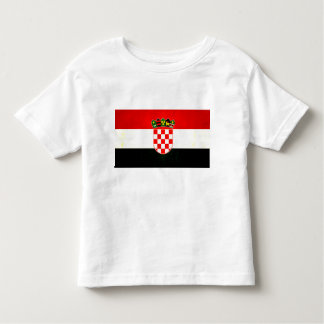 Modern Edgy Croatian Flag Toddler T-shirt