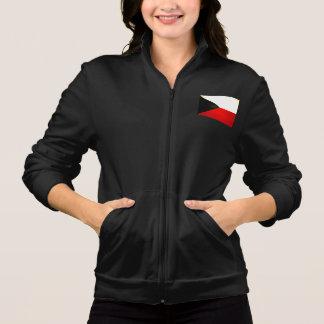 Modern Edgy Czech Flag Jacket