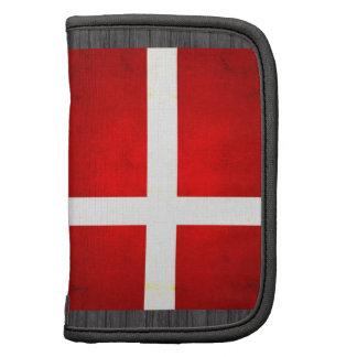 Modern Edgy Danish Flag Folio Planner