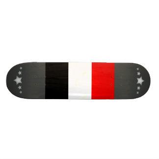Modern Edgy French Flag Skate Board Decks