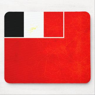 Modern Edgy Futunan Flag Mouse Pad