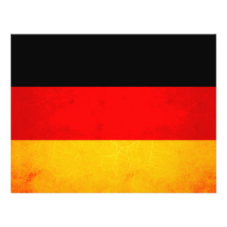 Modern Edgy German Flag Personalized Flyer