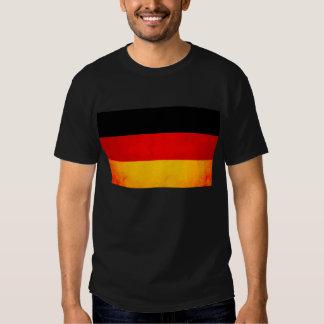 Modern Edgy German Flag Tee Shirt