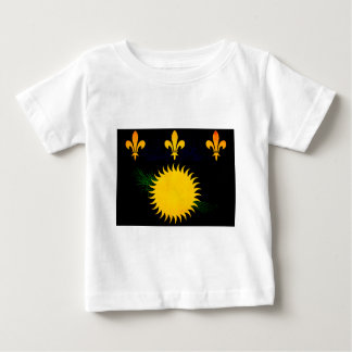 Modern Edgy Guadeloupean Flag T-shirts
