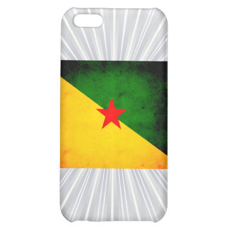 Modern Edgy Guianese Flag Cover For iPhone 5C