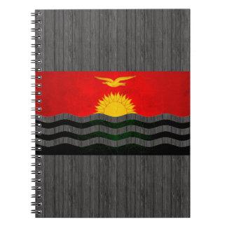 Modern Edgy I-Kiribati Flag Notebooks