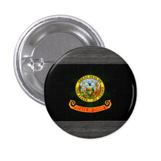 Modern Edgy Idahoan Flag Buttons