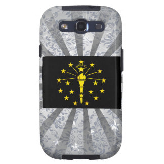 Modern Edgy Indianan Flag Samsung Galaxy S3 Case