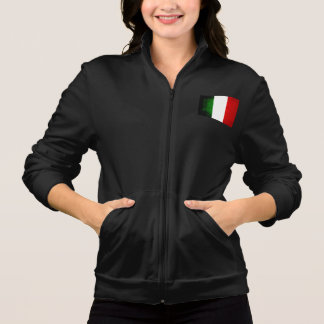 Modern Edgy Italian Flag Jackets