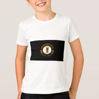 Modern Edgy Kentuckee Flag T-Shirt