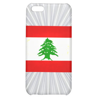 Modern Edgy Lebanese Flag Cover For iPhone 5C
