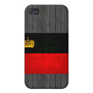 Modern Edgy Liechtensteiner Flag iPhone 4/4S Covers