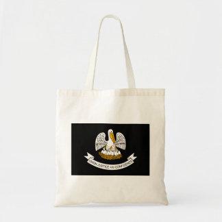 Modern Edgy Louisianan Flag Tote Bag