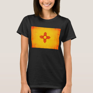 Modern Edgy New Mexican Flag T-Shirt