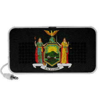 Modern Edgy New Yorker Flag Travel Speaker