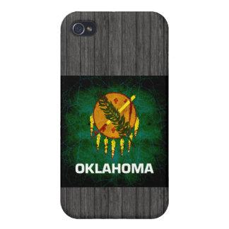 Modern Edgy Oklahoman Flag Covers For iPhone 4