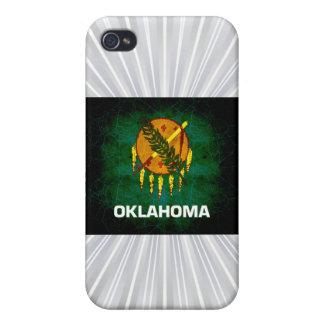 Modern Edgy Oklahoman Flag iPhone 4/4S Case