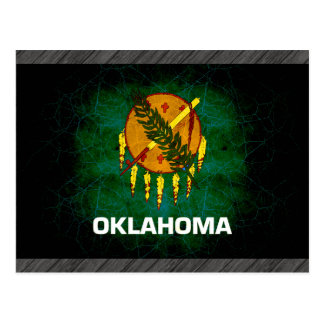 Modern Edgy Oklahoman Flag Postcard