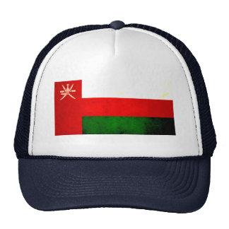 Modern Edgy Omani Flag Trucker Hats