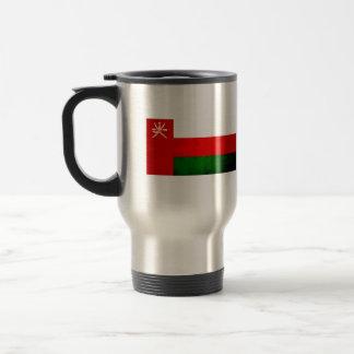 Modern Edgy Omani Flag Coffee Mugs