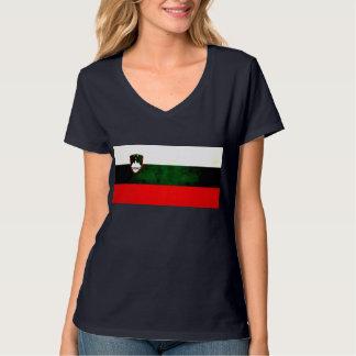 Modern Edgy Slovene Flag T-Shirt