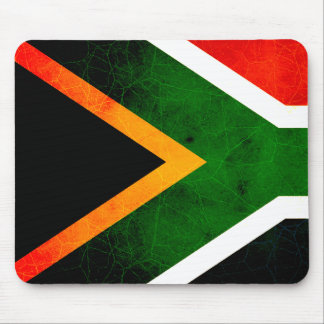 Modern Edgy South African Flag Mousepad
