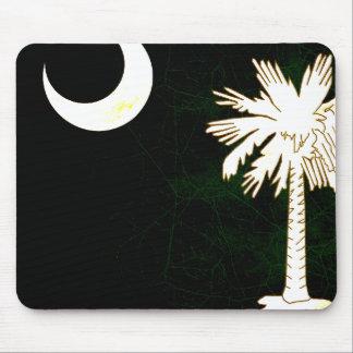 Modern Edgy South Carolinian Flag Mousepads