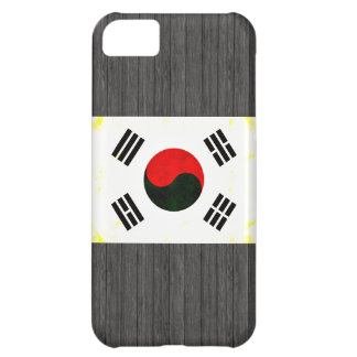 Modern Edgy South Korean Flag iPhone 5C Case