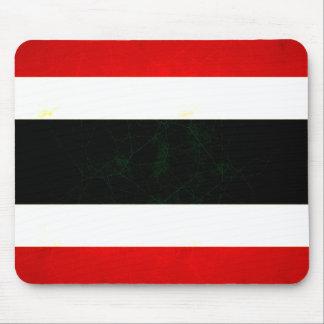 Modern Edgy Thai Flag Mouse Pad
