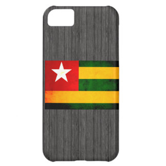 Modern Edgy Togolese Flag Case For iPhone 5C