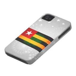 Modern Edgy Togolese Flag Blackberry Bold Case