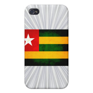 Modern Edgy Togolese Flag Case For iPhone 4