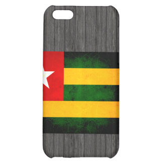 Modern Edgy Togolese Flag iPhone 5C Cases