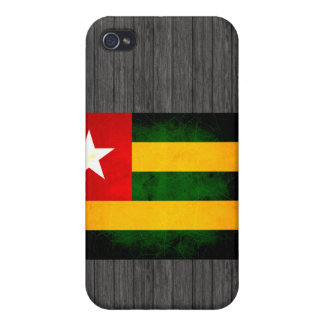 Modern Edgy Togolese Flag iPhone 4/4S Cover