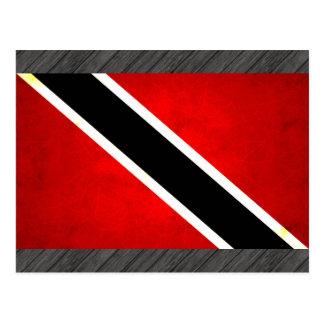 Modern Edgy Trinidadian Flag Postcard