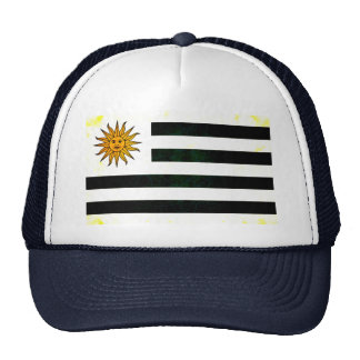 Modern Edgy Uruguayan Flag Hat