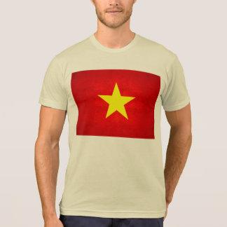 Modern Edgy Vietnamese Flag Tee Shirt