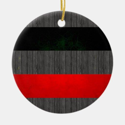 Modern Edgy Yugoslavian Flag Ornaments